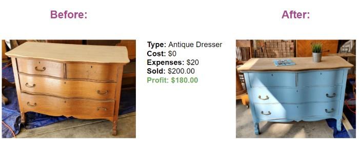 Make Profit Flipping Furniture Online