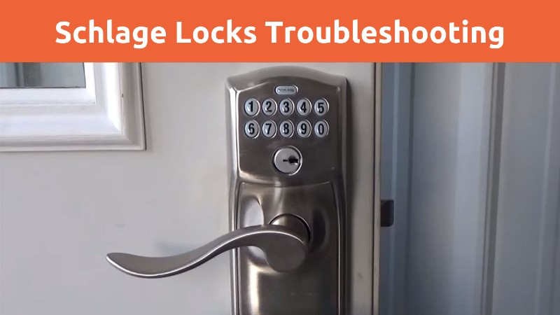 Open Schlage Lock Without Key